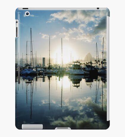 mirrored marina iPad Case/Skin