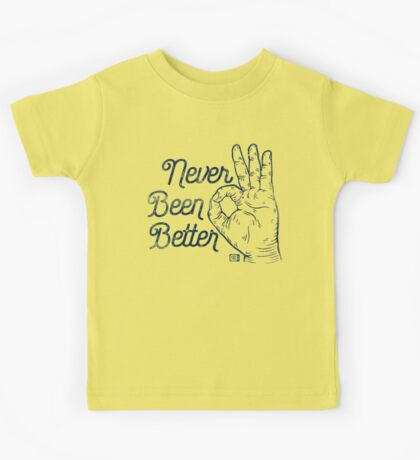 Never Been Better Kids Clothes