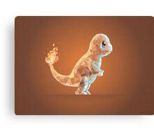 Porymon Charmander | Pokemon Canvas Print