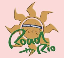 ROAD to RIO - Summer 2016 - Olympia Kids Tee