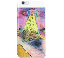 Pyramid construction iPhone Case/Skin