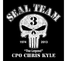 Chris Kyle American The Legend,US Sniper  Photographic Print