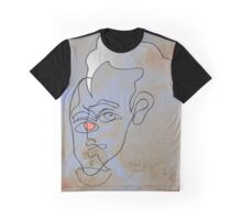squigglehead with pink eye and white hair - drawing Graphic T-Shirt
