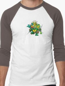 I Ninja Turtle New York - Black Men's Baseball ¾ T-Shirt