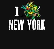 I Ninja Turtle New York - Black Unisex T-Shirt
