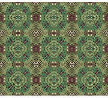 Decorative Geometric Pattern Photographic Print