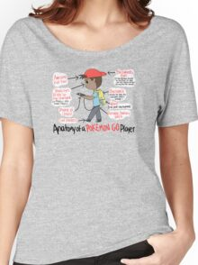 Anatomy of a Pokemon GO Player Women's Relaxed Fit T-Shirt