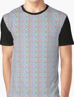 Pastel Brush Strokes Graphic T-Shirt