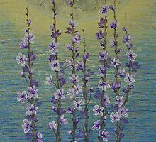 Bloom in the moonlight by Yuliya Glavnaya