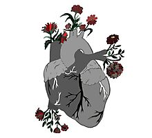 A Decaying Heart Photographic Print