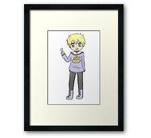 Pastel England Framed Print