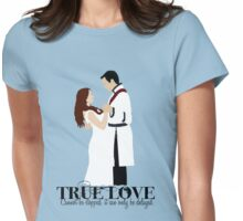 True Love - Ariel and Eric Womens Fitted T-Shirt