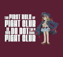 First Rule of Fight Club by LittleKips