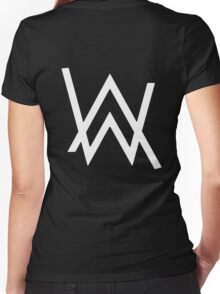 Alan Walker Faded Women's Fitted V-Neck T-Shirt