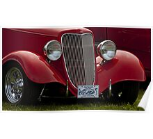 Cherry Ford Roadster Poster