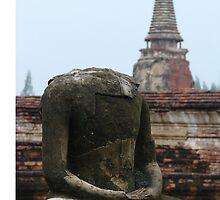 Headless buddha by flourishandglos