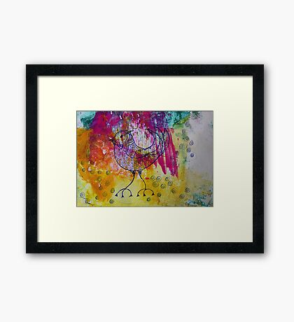 BiRD - JUSTART ©  Framed Print