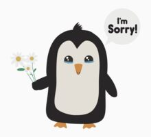 Penguin apology   Kids Tee