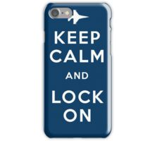 Keep Calm and Lock On iPhone Case/Skin