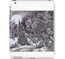 Black Dream iPad Case/Skin