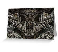 Gothic Steampunk Structure Greeting Card