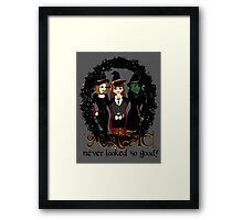 The Witches Three Framed Print