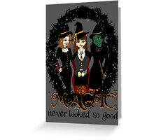 The Witches Three Greeting Card