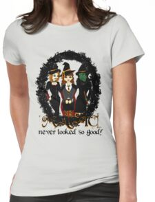 The Witches Three Womens Fitted T-Shirt
