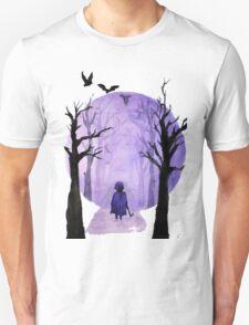 A child's walks back Unisex T-Shirt