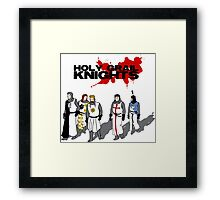 Holy Grail Knights Framed Print