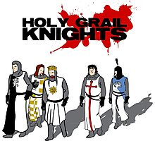 Holy Grail Knights Photographic Print