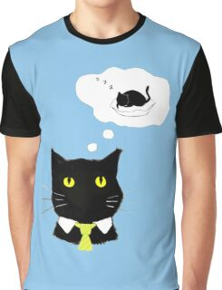 office cat Graphic T-Shirt