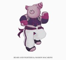 BEARS and FIGHTERS - Juri by MAISON-MACARONI