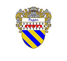 Pagan Coat of Arms/Family Crest Photographic Print