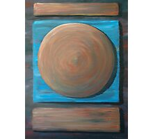 Abstract Circle Painting Photographic Print
