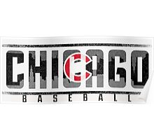 Chicago Cubs Ice Poster