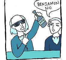 Benjamin No - Single Panel by reparrish