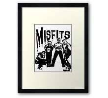 the misfits horror Framed Print