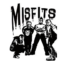 the misfits horror Photographic Print