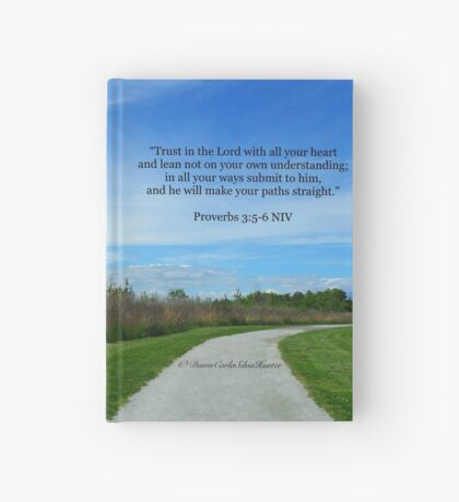 Proverbs 3:5-6 Hardcover Journal