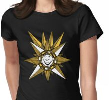 Funny Sun Womens Fitted T-Shirt