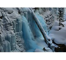 Banff Icy Blues Photographic Print