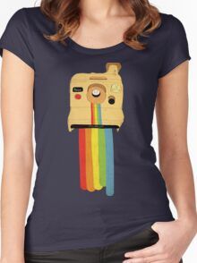 Polaroid Women's Fitted Scoop T-Shirt