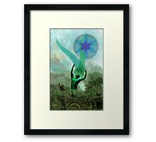 Green Man Framed Print