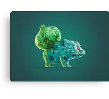 Porymon Bulbasaur | Pokemon Canvas Print