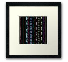 African Beads (Watermelon) Framed Print