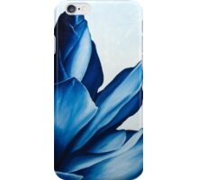 Red Ginger in Blue iPhone Case/Skin