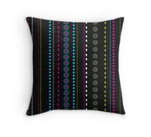 African Beads (Watermelon) Throw Pillow