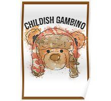 Gambino Colored Poster