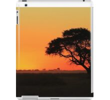 Sunset Gold - Nature Background - African Peace iPad Case/Skin